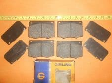 FORD CORTINA Mk3 2000L,2000XL est(1970-76)98mm wide GIRLING BRAKE PADS & SHIMS